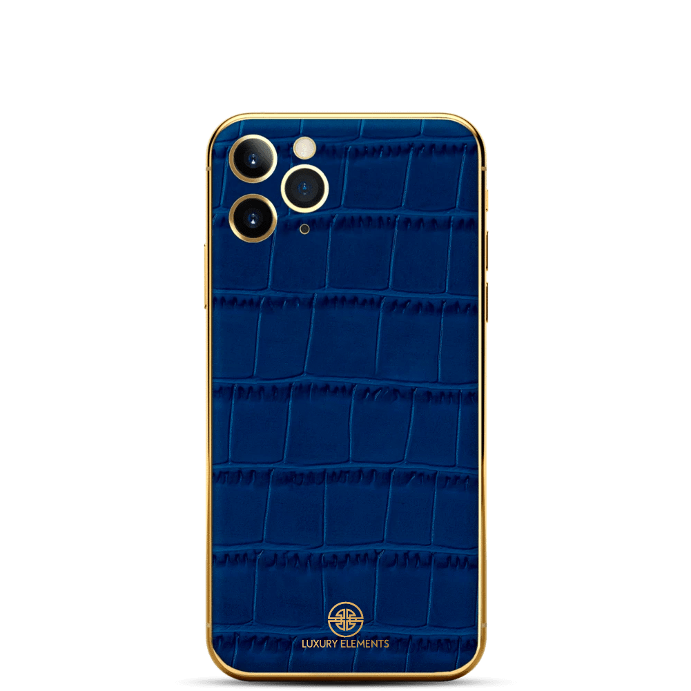 iPhone - Croco Blue Edition