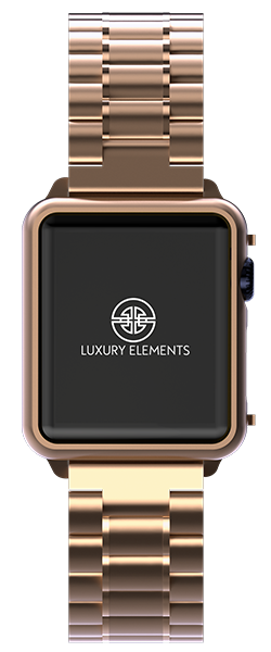 Apple Watch 18 Ct. Rosegold Plated
